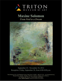 Maxine Solomon at the Triton Museum