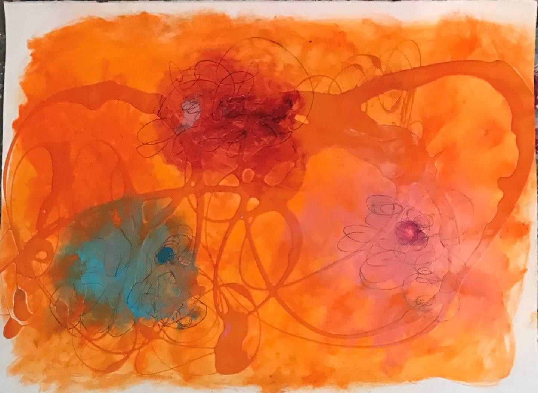 Bocchino Untitled Orange #2