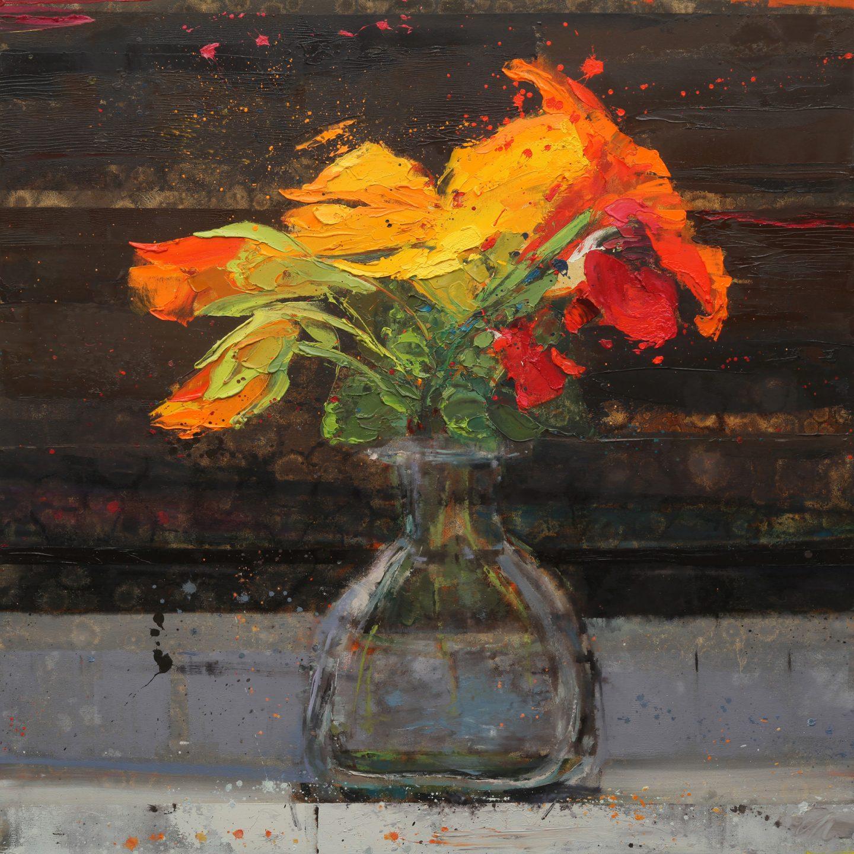 Meyer Orange Flower