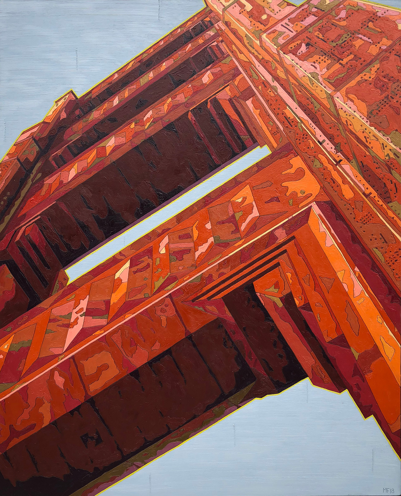 Frederick South Tower Golden Gate