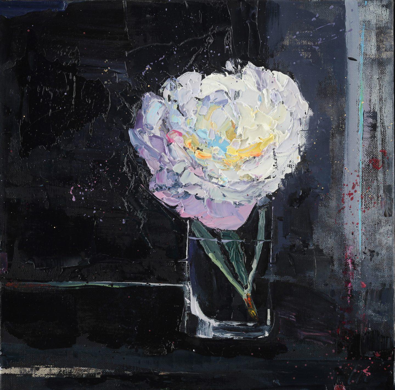 Meyer Flower in the Dark