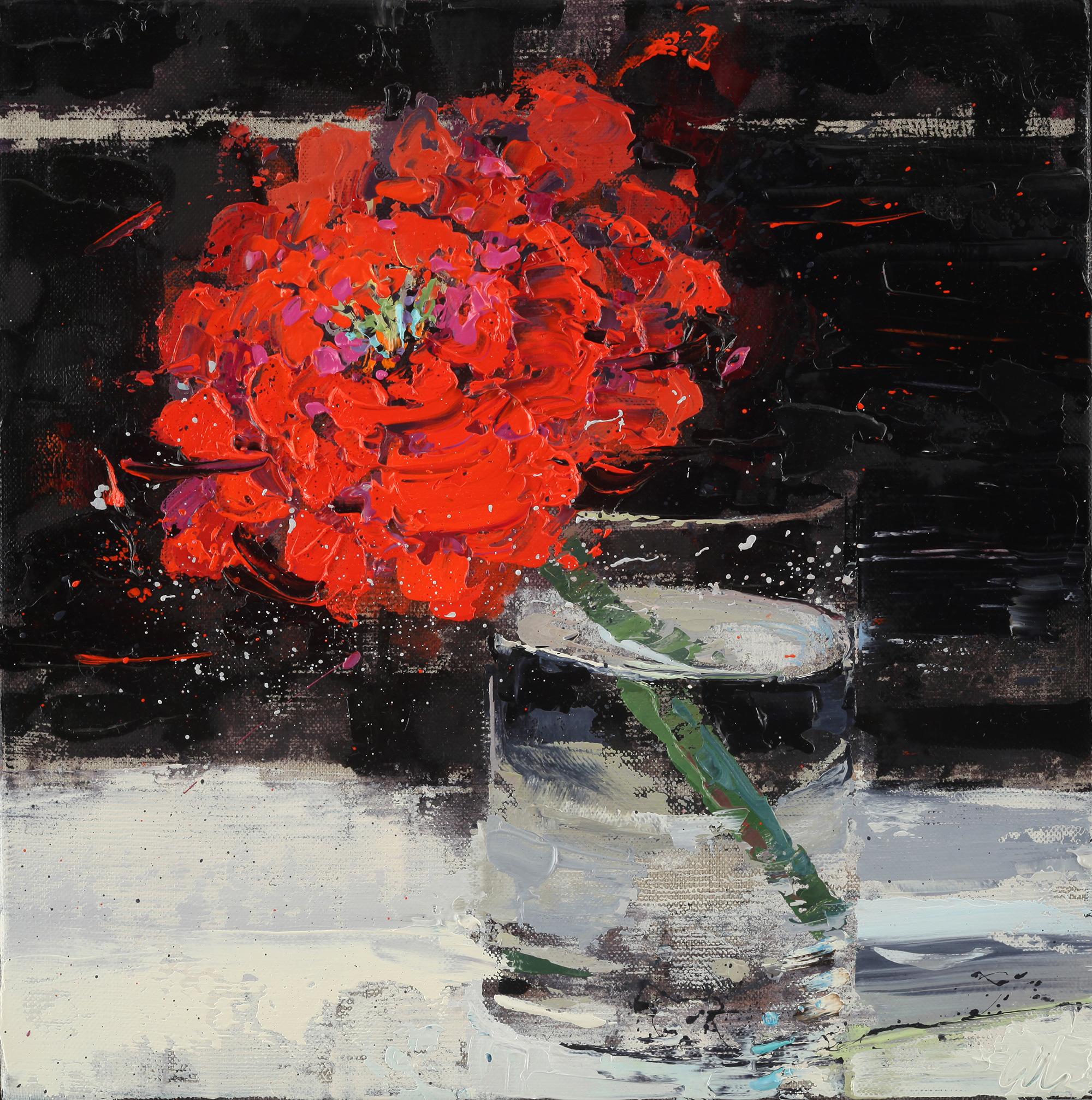 Meyer Red Red Flower