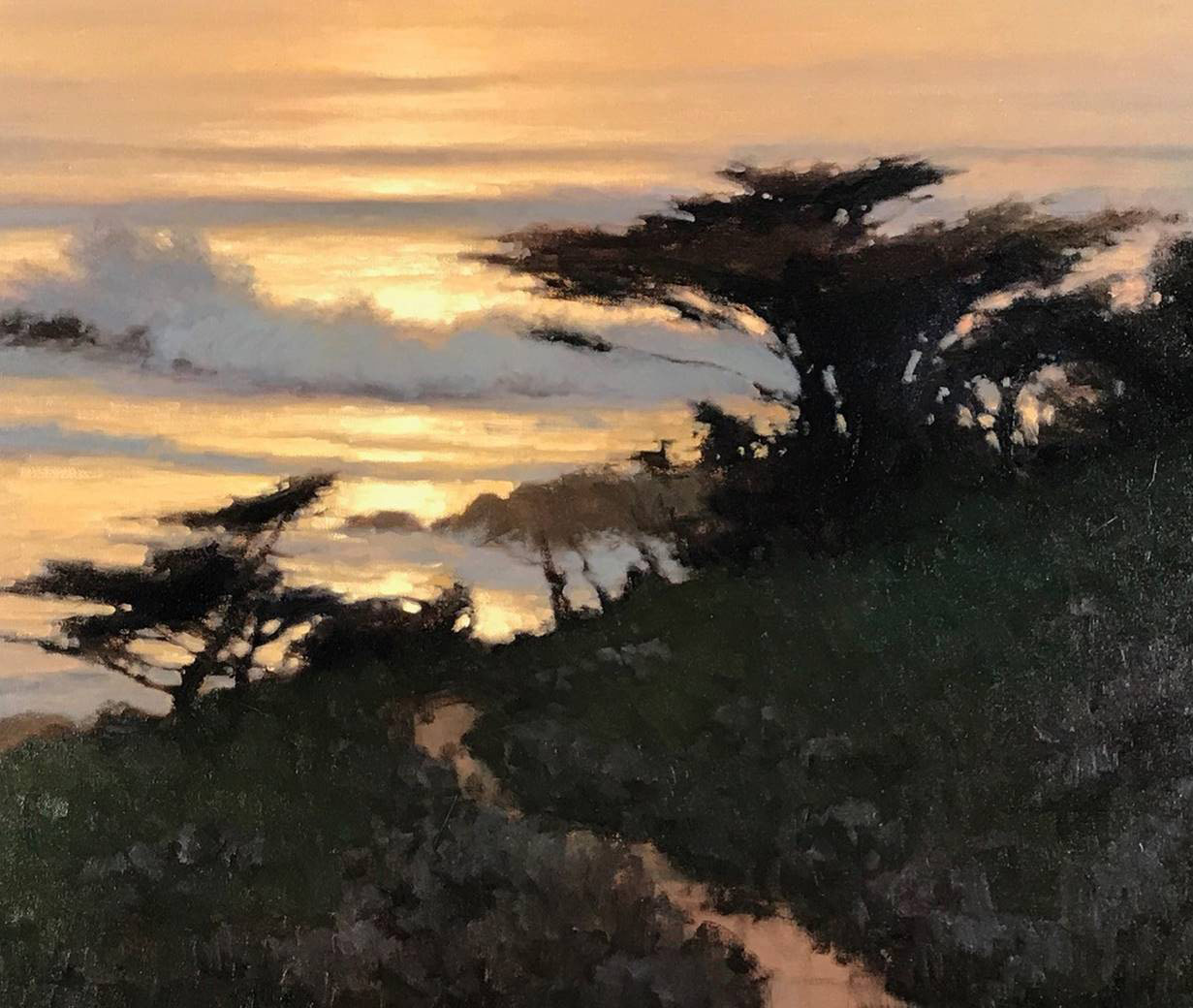 Blood Sunset at Pt Lobos