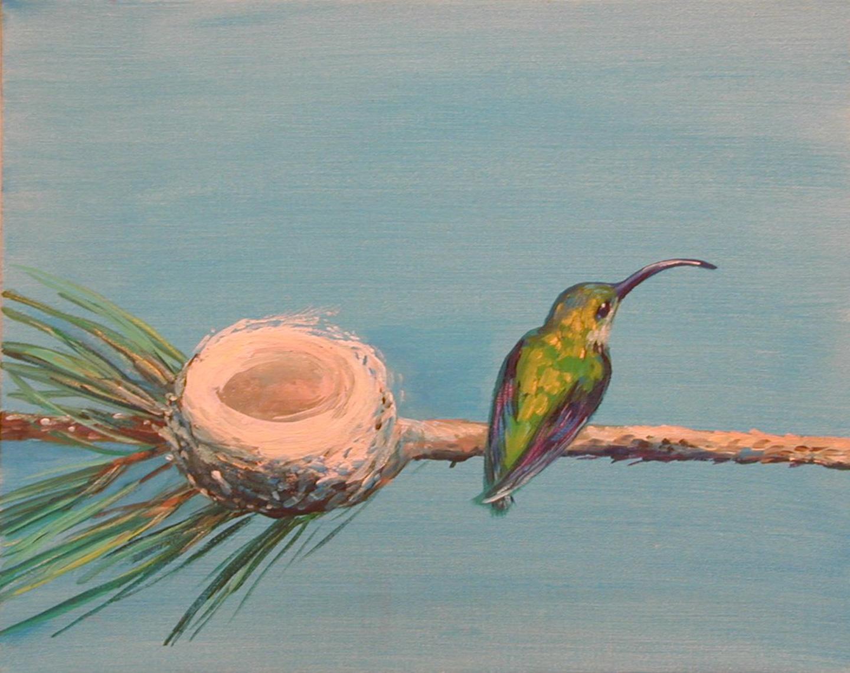 Brown Hummingbird No. 11