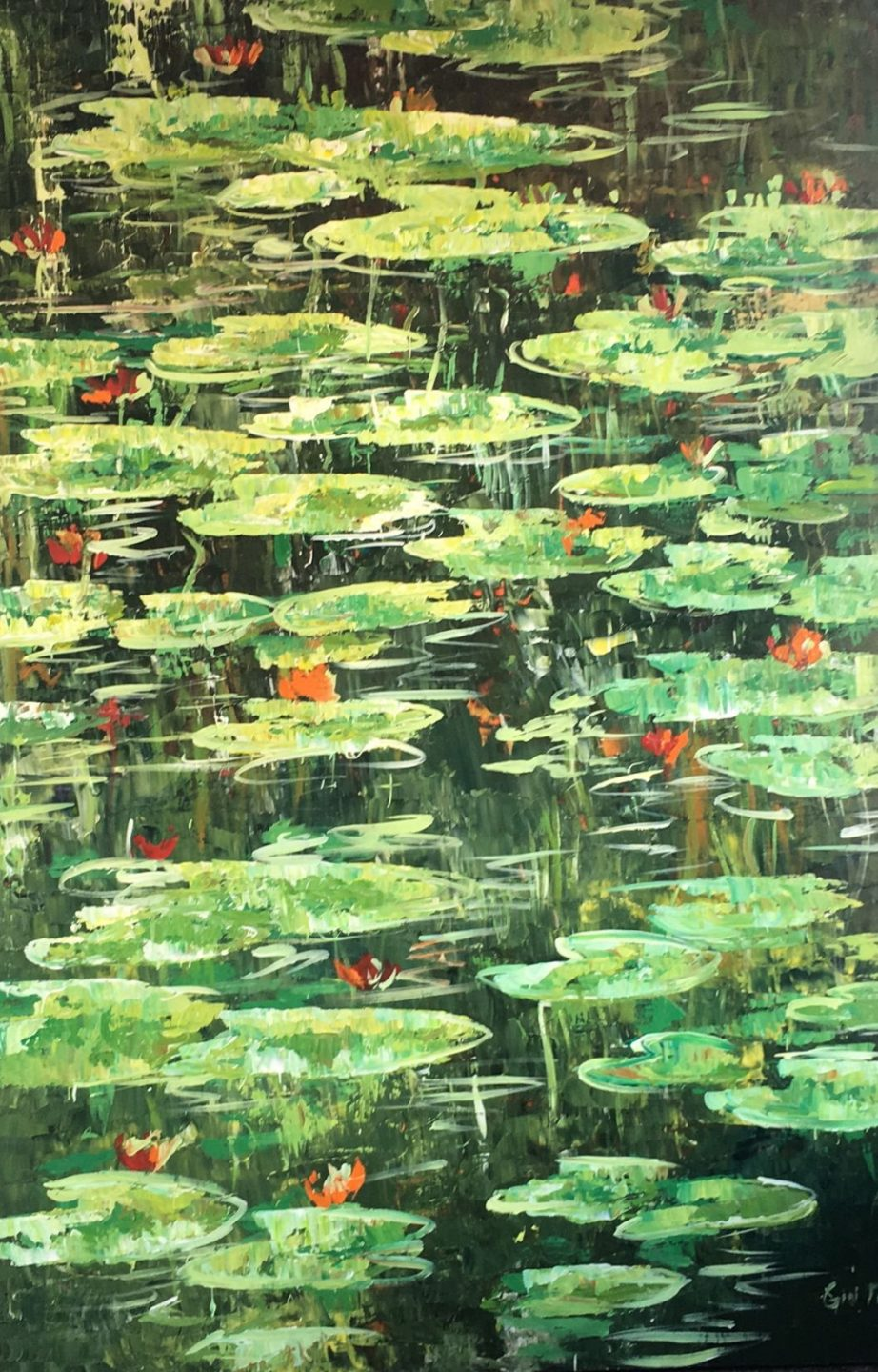Tran Water Lillies