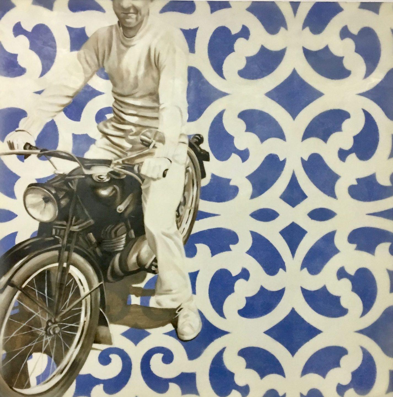 Alvarado Motorcycle Man