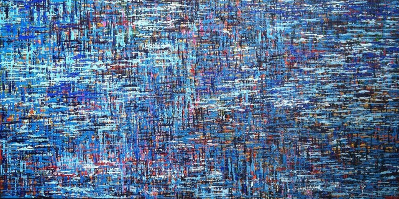 Tran Blue Woven