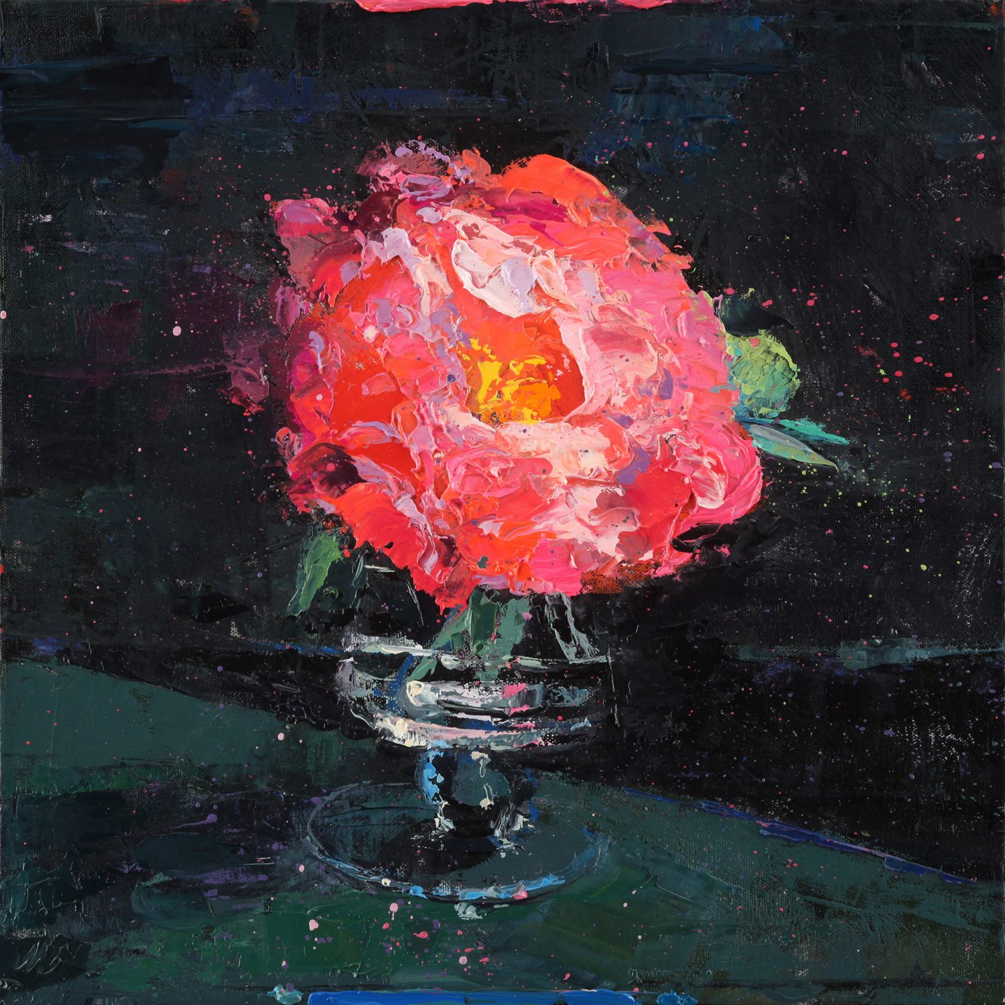 Meyer Peony and the NIght Sky