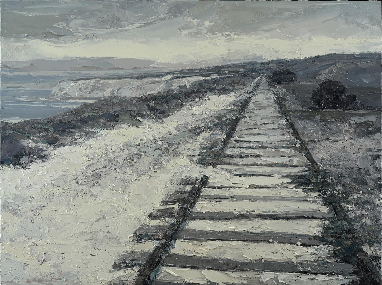 Meyer Sand on the Tracks